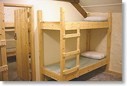 bunk house accommodation